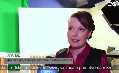 Embedded thumbnail for Dunajskostredská mestská televízia od 11. októbra vysiela digitálne