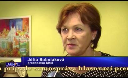 Embedded thumbnail for Voliči môžu požiadať o vydanie hlasovacieho preukazu