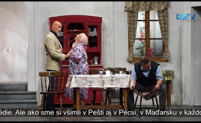 Embedded thumbnail for Diváci po dlhej dobe opäť videli divadelné predstavenie