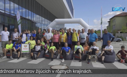 Embedded thumbnail for Cieľom programu je spojiť Maďarov Karpatskej kotliny športom