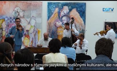 Embedded thumbnail for Publikum si mohlo vychutnať koncert skupiny Folkkvartett