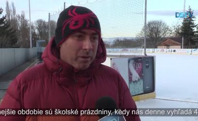 Embedded thumbnail for Mestská umelá ľadová plocha zahájila zimnú sezónu