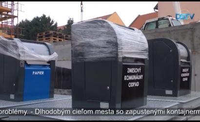 Embedded thumbnail for Kontajnery zapustené do zeme už aj v Dunajskej Strede