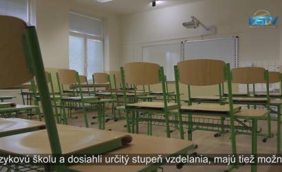 Embedded thumbnail for Jazyková škola bude vprevádzke ako súčasť Gymnázia Ármina Vámbéryho