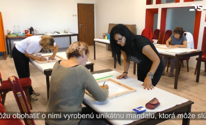 Embedded thumbnail for Kurz maľovania mandaly v kultúrnom dome