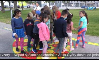 Embedded thumbnail for Deti sa mohli zmocniť farebného skákacieho chodníka