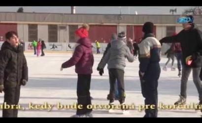 Embedded thumbnail for Prednedávnom sprístupnili mestskú umelú ľadovú plochu