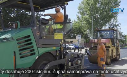 Embedded thumbnail for Trnavský samosprávny kraj modernizuje Kračanskú cestu