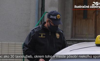 Embedded thumbnail for U dunajskostredských poskytovateľov taxislužieb sa konala kontrola