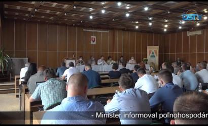 Embedded thumbnail for Uskutočnilo sa valné zhromaždenie agrárnej komory