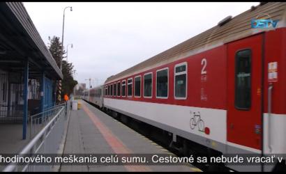 Embedded thumbnail for Nové železničné spoločnosti na trati Bratislava-Komárno