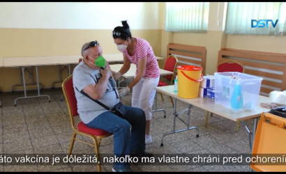 Embedded thumbnail for V Dunajskej Strede sa uskutočnil výjazd župnej mobilnej očkovacej jednotky