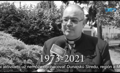 Embedded thumbnail for Rozlúčka s Jánosom Karaffom prostredníctvom jeho myšlienok