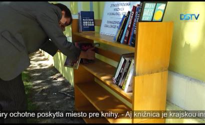 Embedded thumbnail for Knižnica a múzeum počas leta poskytnú možnosť čítania vonku