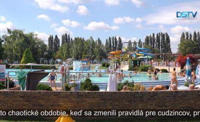 Embedded thumbnail for V termálnom kúpalisku bolo menej zahraničných hostí ako v minulých rokoch