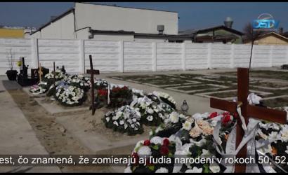 Embedded thumbnail for Počet pohrebov v Dunajskej Strede sa strojnásobil