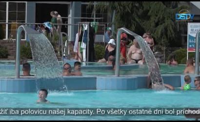 Embedded thumbnail for V termálnom kúpalisku slávnostne otvorili letnú sezónu