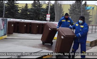 Embedded thumbnail for Do konca marca budú pri každom rodinnom dome kontajnery na ukladanie zeleného odpadu