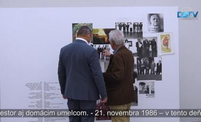 Embedded thumbnail for Otvorili výstavu s názvom 35 rokov výstavnej siene Žitnoostrovského múzea