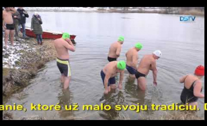 Embedded thumbnail for V našom meste sa konalo jubilejné zimné plávanie