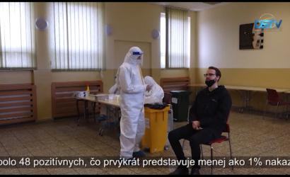 Embedded thumbnail for Dunajskostredská samospráva naďalej zabezpečuje antigénové testovanie
