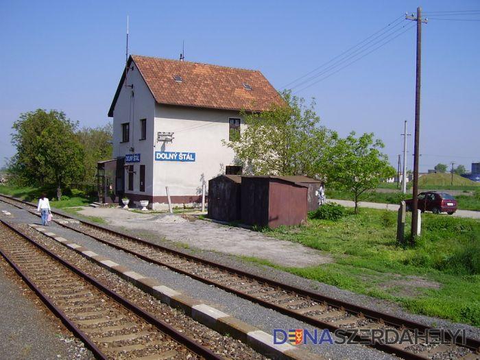 Výluka v úseku Dolný Štál - Dunajská Streda