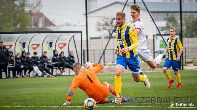 U19: FC DAC 1904 - AS Trenčín 6:1 (3:0)