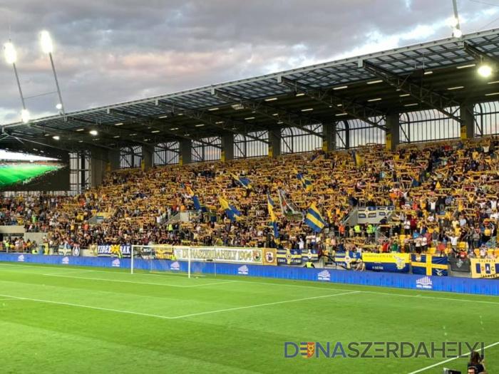 DAC-MKS Cracovia 1:1 (1:1) v 1. predkole Európskej ligy