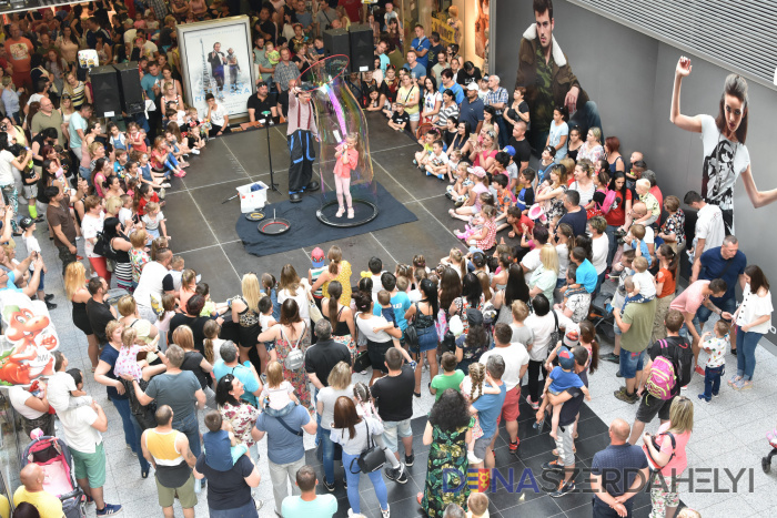 Bublinkový deň detí s hudbou a tancom