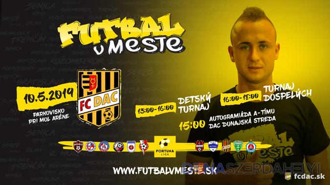 Futbal v meste prichádza do Dunajskej Stredy!
