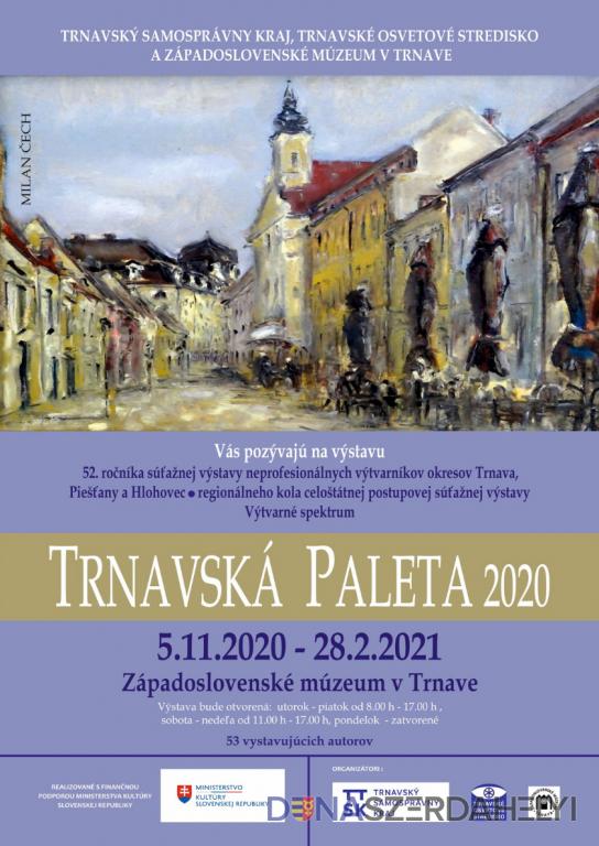Diela najlepších umelcov Trnavskej palety predstavia v Západoslovenskom múzeu v Trnave