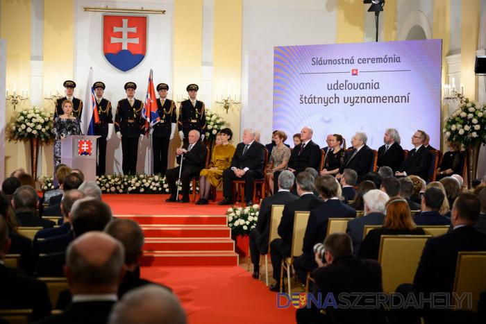 Prvé oceňovania prezidentky Čaputovej