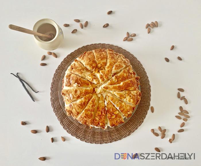 Včelie uštipnutie – torta (Bienenstich)