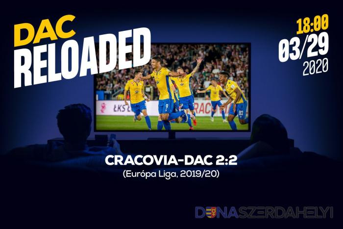 Link na sledovanie pohárového zápasu Cracovia-DAC (2:2)