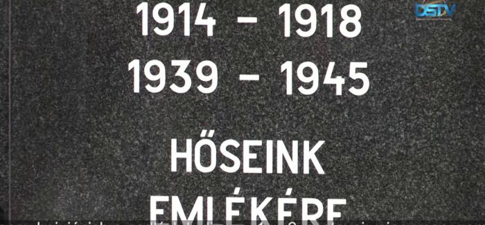 Embedded thumbnail for Mestská samospráva usporiadala spomienkovú slávnosť na počesť padlých vojakov