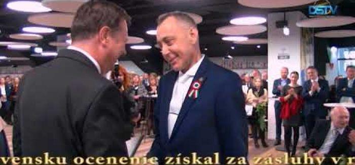 Embedded thumbnail for Vyznamenania pri príležitosti maďarského národného sviatku