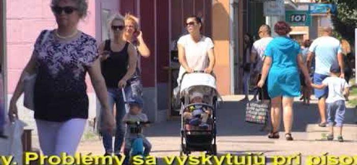 Embedded thumbnail for Prieskum o dvojjazyčnosti podnikateľov v Dunajskej Strede