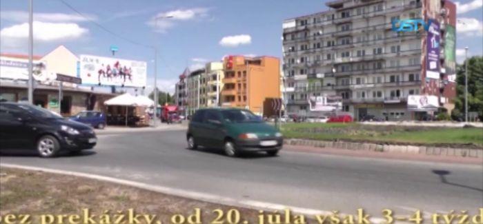 Embedded thumbnail for V lete prebudujú najväčší kruhový objazd v Dunajskej Strede