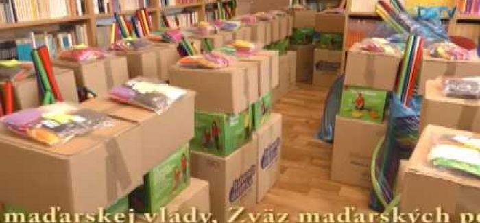 Embedded thumbnail for Metodický balík dostali MŠ, v ktorých sa vyučuje v maďarskom jazyku