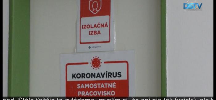 Embedded thumbnail for V okrese Dunajská Streda je vysoký počet nakazených