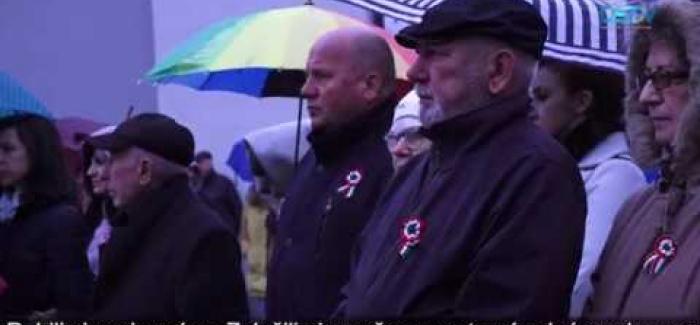 Embedded thumbnail for Upršaný maďarský národný sviatok v Dunajskej Strede