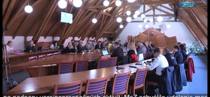 Embedded thumbnail for Uskutočnilo sa 10. riadne zasadnutie MsZ v Dunajskej Strede