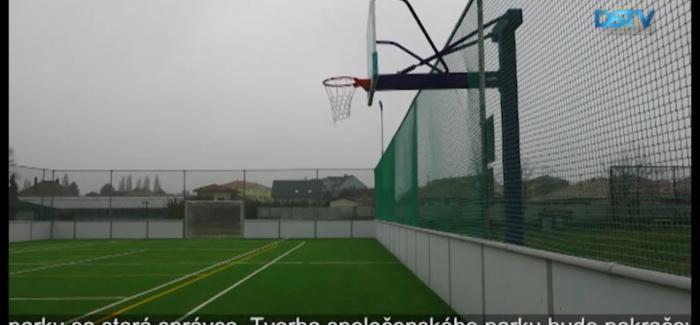 Embedded thumbnail for V Malom Blahove dokončili stavbu multifunkčného športového areálu