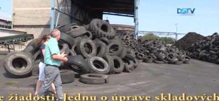 Embedded thumbnail for Mliečany sa vzbúrili proti prevádzke na spracovanie pneumatík