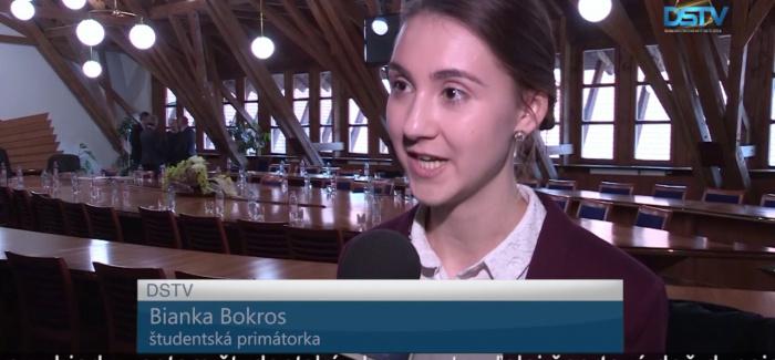 Embedded thumbnail for Študentský parlament si zvolil desiateho študentského primátora