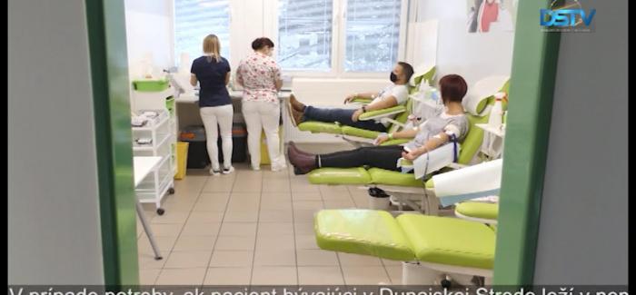 Embedded thumbnail for Pre nákazu málo darcov krvi