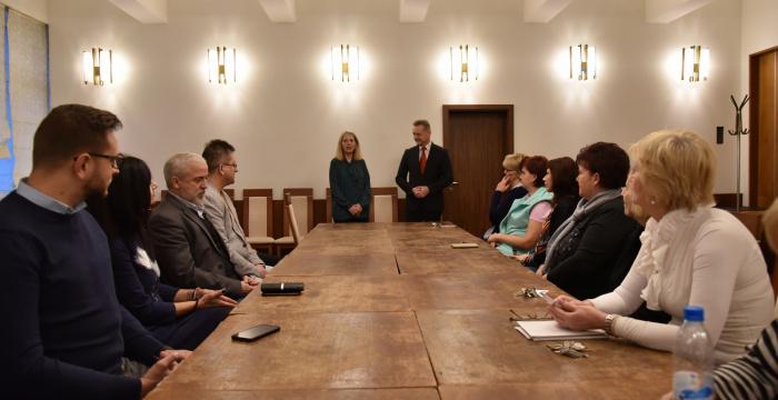 Tímeu Takács uviedli do funkcie riaditeľky Mestského kultúrneho strediska Benedeka Csaplára