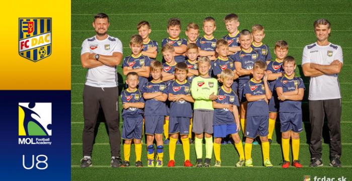 Sezóna 2018/19: DAC U8