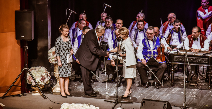 Cigánsky primáš István Banyák dostal vysoké štátne vyznamenanie