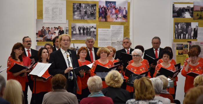 Koncert Speváckeho zboru Sv. Juraja v Žitnoostrovskom múzeu